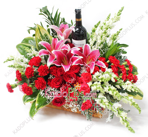cheers of celebration toko bunga online florist parcel bunga